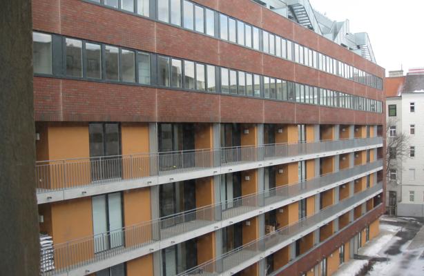 Wohnhausanlage Pasettistrasse Wien